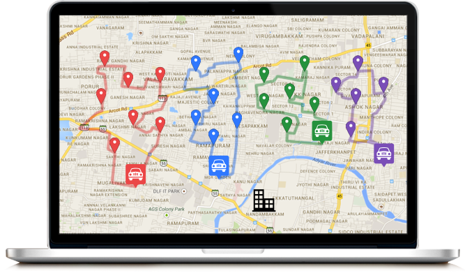 safetrax-google-maps-routing